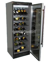 102 bottle  Wine Cellar -Black/Silver trim