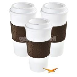 Eco-First Acadia - BPA Free - Reusable To Go Mug - 3-Pack