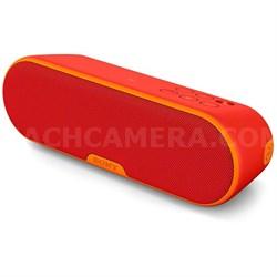 SRS-XB2 Portable Wireless Bluetooth Speaker - Red