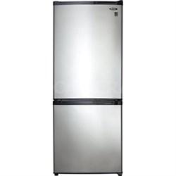 9.2 Cu.Ft. Apartment Size Refrigerator w/Spotless Steel Doors- DFF092C1BSLDB