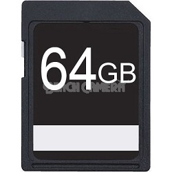 64GB SDXC Class 10 High Speed Memory Card