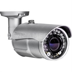 Indoor/Outdoor 4MP PoE IR Network Camera, 30FPS Auto-Focus OpticalZoom TVIP344PI