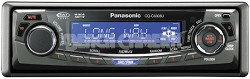 CQ-C3303U In-Dash Receiver w/CD player and  iPod-ready MP3/WMA playback