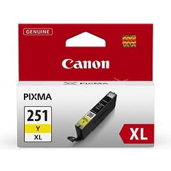 CLI-251 Yellow XL Ink Tank for PIXMA iP7220, MG5420, MG6320 Printers