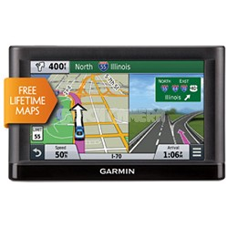 "nuvi 66LM GPS Navigation System with Lifetime Maps - 6"" Display"