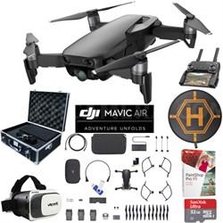 Mavic Air Fly More Combo Onyx Black Drone Pro Photo Edit Case VR Set Landing Pad