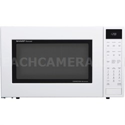 1.5 Cu.Ft. 900W Carousel Countertop Microwave Oven in White - SMC1585BW