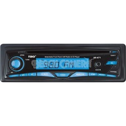 Detachable Stereo AM/FM Car Radio CD Player and Aux-In Jack (Black) - OPEN BOX