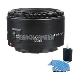 EF 50MM F1.8 II Prime AF Lens Bundle