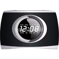 Dock and Clock Radio PLL Dual Alarm for iPod and iPhone