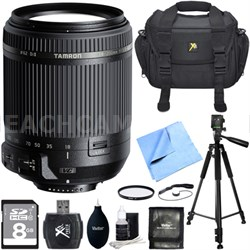 18-200mm Di II VC All-In-One Zoom Lens for Nikon Mount w/ Pro Accessory Bundle