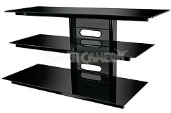"""PVS-4218HG - Flat Panel TV Stand in High Gloss Black (for most TVs up to 52"""")"""