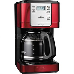 Advanced Brew 12-Cup Programmable Coffee Maker in Red - JWX36-RB