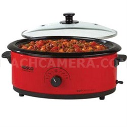 6qt Roaster Oven Red