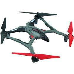 Vista UAV Ready-to-Fly Intense Performance Quadcopter RTF Drone (Red) DIDE03RR
