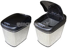 Stainless Steel Trash Can - 6.34 Gal