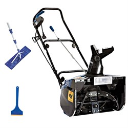 Ultra 18-in Snow Thrower w/ light Snow Buster Bundle With Roof Rake And Shovel