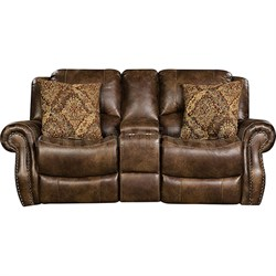 Stratton Reclining Console Loveseat - 98529DRL-CO