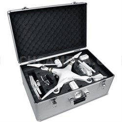 Aluminum Custom Fit Carrying Case for DJI Phantom 3 / 4 - OPEN BOX