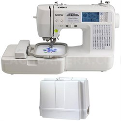 Computerized Embroidery and Sewing Machine LB6800PRW with Carrying Case