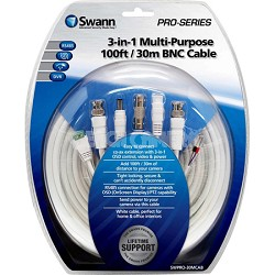 Pro Series Cable -v30m / 100ft 3 in 1 Cable