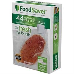 Quart Vacuum Seal Bags 44 Count in Clear - FSFSBF0226-P00