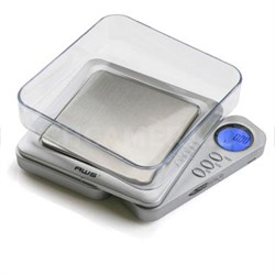 Blade Series Digital Pocket Scale in Silver - BL-100-SIL