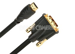 HDMI400 - HDMI to DVI Video Cable for HDTV 1 Meter (3.28 ft.)