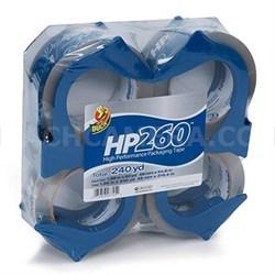 HP260 Pckgng Tape 4pkDisp Clr