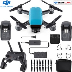 SPARK Fly More Drone Combo Sky Blue - CP.PT.000902