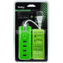 Portable USB Hub Charging Station (Green)