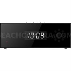 Desk Clock IP Camera w/ Bluetooth Speaker, Live Video Monitoring (OPEN BOX)