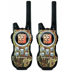35-Mile Range 22-Channel FRS/GMRS Two-Way Radio (Pair)