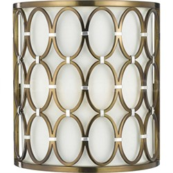 Cosmo Wall Sconce in Satin Brass - 8220-2W