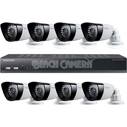 8CH 8 IP66 600TVL Cameras DVR Security System with 500GB HDD