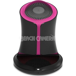 Syren NFC-Enabled Bluetooth Portable Speaker - Pink