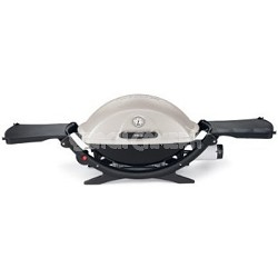 Q 220 Portable 280-Square-Inch 12000-BTU Gas Grill with Electronic Ignition