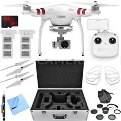 Phantom 3 Standard Quadcopter Drone with 2.7K Camera Essential Accessory Bundle