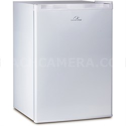 2.6 Cu. Ft. Mini Fridge - White (CCR26W) w/ Freezer Compartment