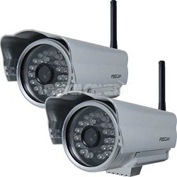 FI8904W Outdoor Wireless IP Camera 2 Pack
