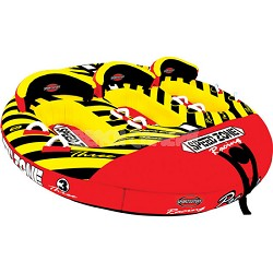 Speedzone 3 Inflatable Triple Rider Towable