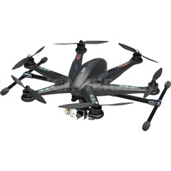 "TALI H500 Ready to Fly Hexcopter w/ DEVO 5"" LCD Remote, HD Camera, & G-3D Gimbal"