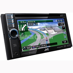 "Bluetooth DVD/CD/USB/SD Navigation System w/ 6.1"" Touch Panel Monitor (KWNT310)"
