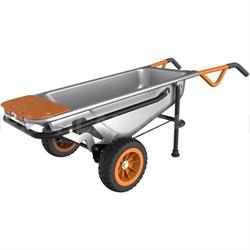 Aerocart 8-in-1 All-Purpose Wheelbarrow, Yard Cart, Dolly - WG050