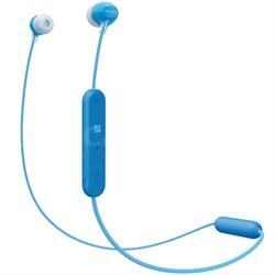 WI-C300 Stamina Wireless In-Ear Headphones w/ Bluetooth - Blue (WIC300B)