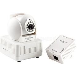 plugCam Starter Kits - 500mbps Powerline Home Plug-N-Play