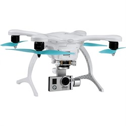 GhostDrone 2.0 Aerial Drone - White/Blue 1 Year Crash Coverage Included