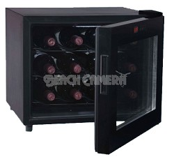 Up to 12-Bottle Capacity Thermal Electric Wine Cellar (Black)