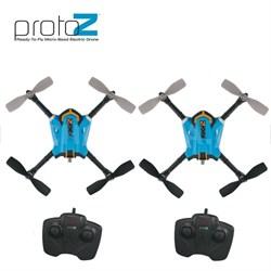 Proto-Z Micro RTF Ready to Fly R/C Quadcopter (Acrobatics/Stunts) Holiday 2 Pack