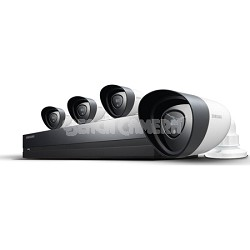 8CH 4 HD Camera Full HD DVR Security System with 2TB HDD